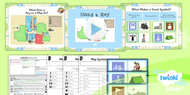 Geography: Land Use: Using a Key Year 3 Lesson Pack 2