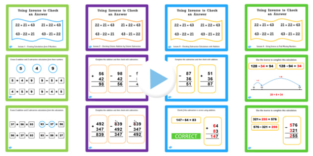 Year 3 Inverse PowerPoints Pack - inverse, powerpoint, pack, y3