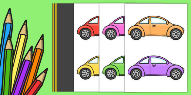 Editable Back to School Road to Success Cars