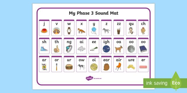 Phase 3 Sound Mat Australia Sound Mat Sounds Mat Phase 3