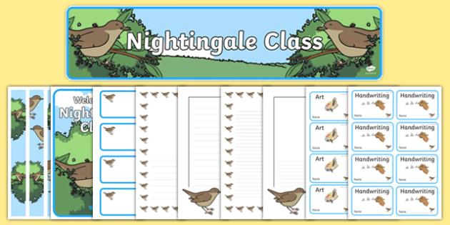 Nightingale Class Resource Pack - nightingale class, resource pack, nightingale, class