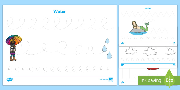 Water themed pencil control worksheet activity sheets eyfs water themed pencil control worksheet activity sheets eyfs early years water ccuart Choice Image