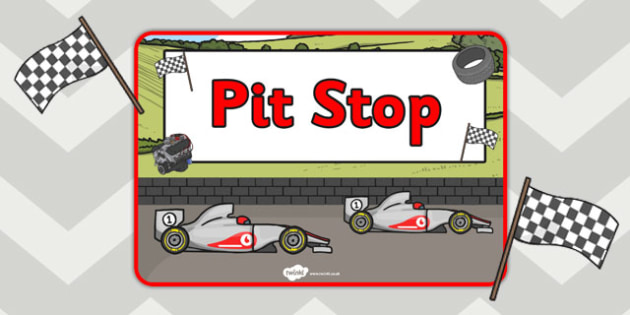 Role Play Pit Stop Formula One Sign - roleplay, sign, formula one