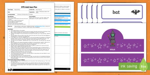 EYFS Meg's Peg Leg Adult Input Plan and Resource Pack