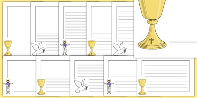 First Holy Communion Page Borders - first holy communion ...