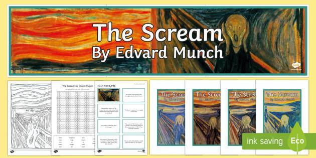 The Scream by Edvard Munch Resource Pack-Irish
