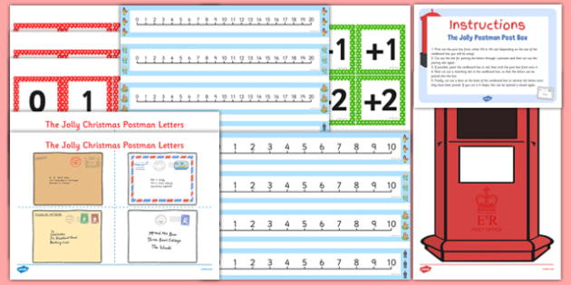 One More Letter Resource Pack to Support Teaching on The Jolly Christmas Postman - one more, letter, resource, pack, christmas