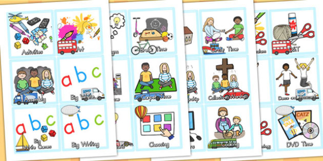 Transport Themed KS1 Visual Timetable - transport, KS1, timetable