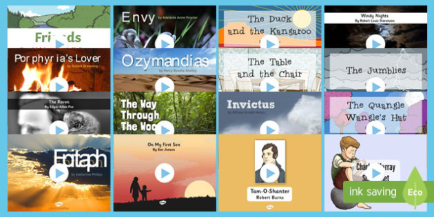 Poetry PowerPoint Resource Pack