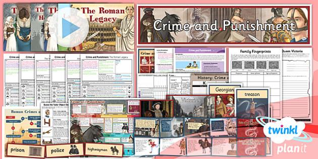 History: Crime and Punishment LKS2 Unit Pack