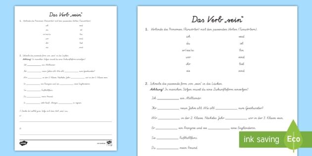 Konjugation deutsch sein Motivationsschreiben schreiben