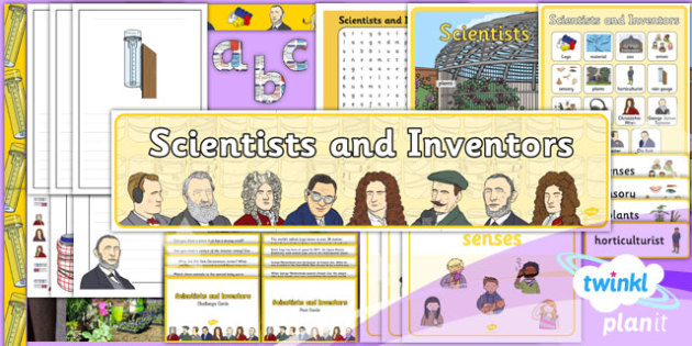 Science: Scientists and Inventors Year 1 Additional Resources