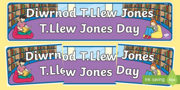 T Llew Jones Day Bilingual  Display Banner