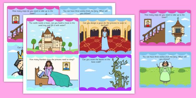 Challenge Cards Fairytale Castle - challenge cards, fairytale