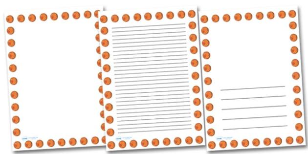 Mars Portrait Page Borders- Portrait Page Borders - Page border, border, writing template, writing aid, writing frame, a4 border, template, templates, landscape