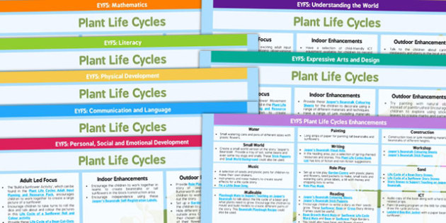 EYFS Plant Life Cycles Lesson Plan and Enhancement Ideas - planning, life cycle, life cylce lesson plan, lesson plan, life cycle lesson ideas, life cycle lesson plan ideas, MPT