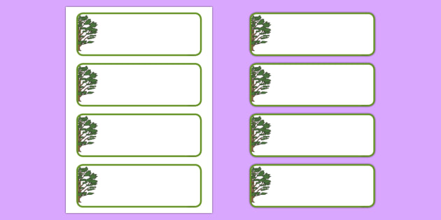 Cedar Tree Themed Editable Drawer-Peg-Name Labels (Colourful) - Themed Classroom Label Templates, Resource Labels, Name Labels, Editable Labels, Drawer Labels, Coat Peg Labels, Peg Label, KS1 Labels, Foundation Labels, Foundation Stage Labels, Teachi