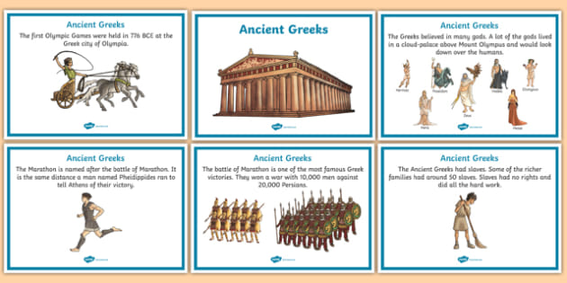 Ancient Greece History Display Pack