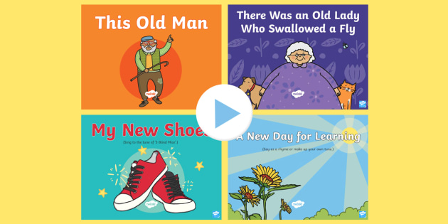 Old and New Concept Songs and Rhymes PowerPoints Pack