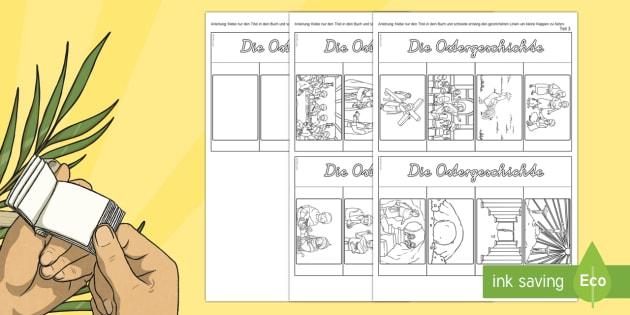 Ostern - 1./2. Klasse Themen - Materialien auf Deutsch