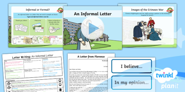 Significant Individuals: Florence Nightingale: Letter Writing 2 Y2 Lesson Pack - Nurses, Victorians, Crimean war, mini topic, year one history, Mary Seacole