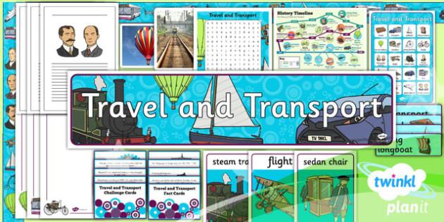 history travel and transport ks1 unit additional resources. Black Bedroom Furniture Sets. Home Design Ideas