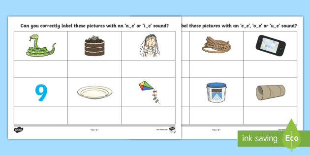 Split Digraph Worksheet / Worksheet - AE or IE Split Digraph Worksheet