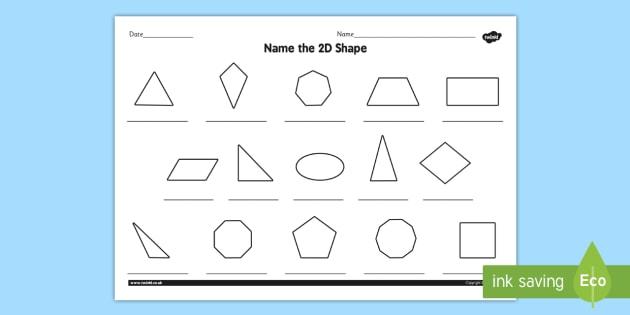 name the 2d shape year 6 worksheet worksheet 2d shape year 6. Black Bedroom Furniture Sets. Home Design Ideas