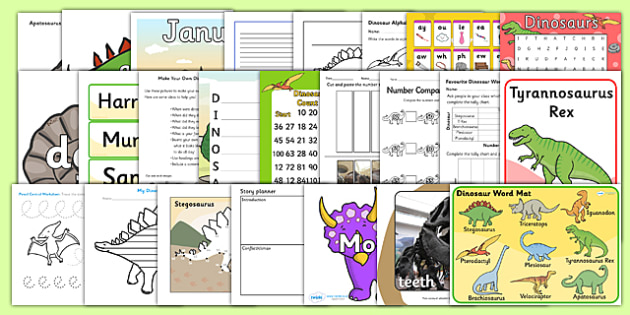 Dinosaurs KS1 Lesson Plan Ideas and Resource Pack - lesson plan