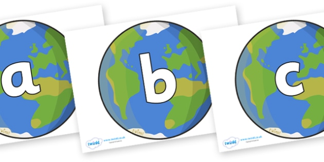 Phoneme Set on Earth - Phoneme set, phonemes, phoneme, Letters and Sounds, DfES, display, Phase 1, Phase 2, Phase 3, Phase 5, Foundation, Literacy