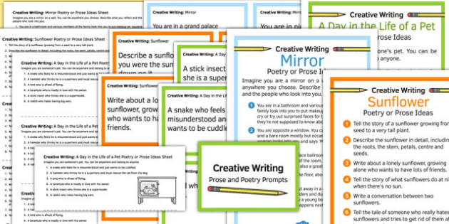 Creative Writing Prompts Pack - creative writing, prompts, pack