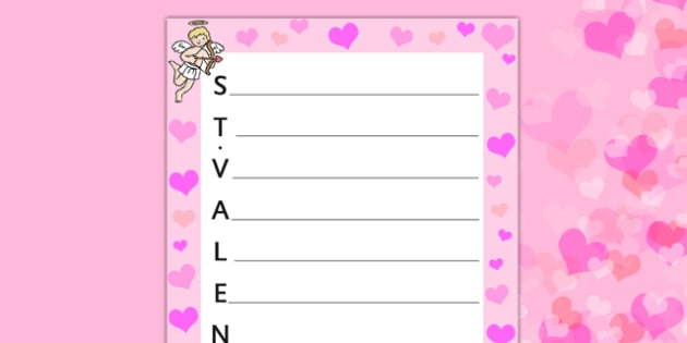 Valentine's Acrostic Poem French - french, acrostic poems, acrostic poem, acrostic, poem, valentines poetry, valentines poem, valentines day acrostic poem, poetry, literacy, writing activity, activity