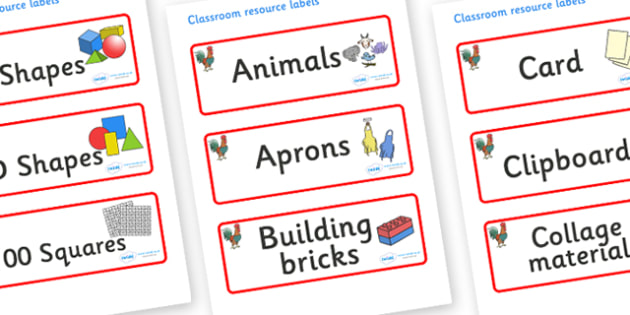 Rooster Themed Editable Classroom Resource Labels - Themed Label template, Resource Label, Name Labels, Editable Labels, Drawer Labels, KS1 Labels, Foundation Labels, Foundation Stage Labels, Teaching Labels, Resource Labels, Tray Labels, Printable l