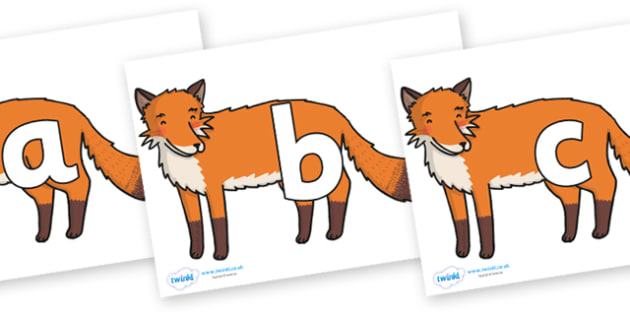 Phoneme Set on Gingerbread Man Fox - Phoneme set, phonemes, phoneme, Letters and Sounds, DfES, display, Phase 1, Phase 2, Phase 3, Phase 5, Foundation, Literacy