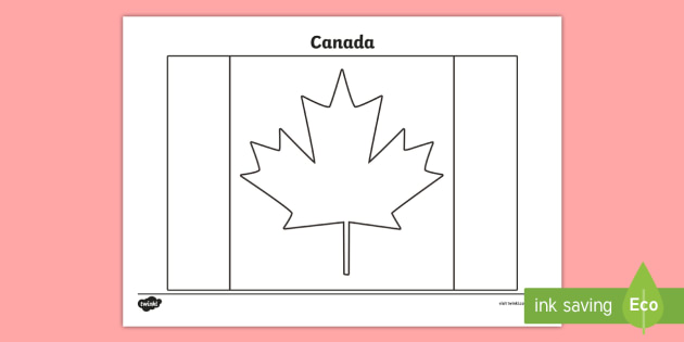 - Canada Flag Coloring Page - KS2 - Invictus Games - 23rd Sept 2017