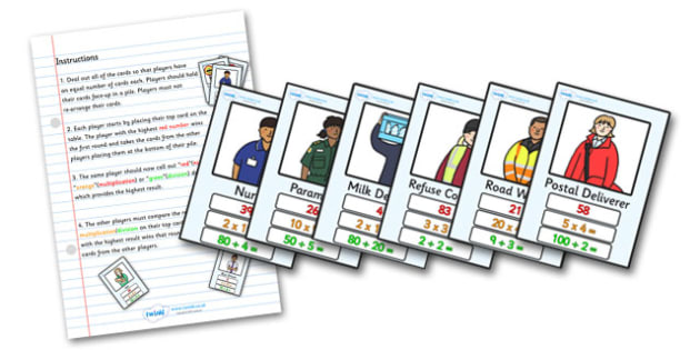 Multiplication & Divison Card Game - multiplication, division, multiply, divide, top trumps, match, matching, trumps, numbers, dividing, multiplying, activity, game, fun, Maths, KS2, numeracy