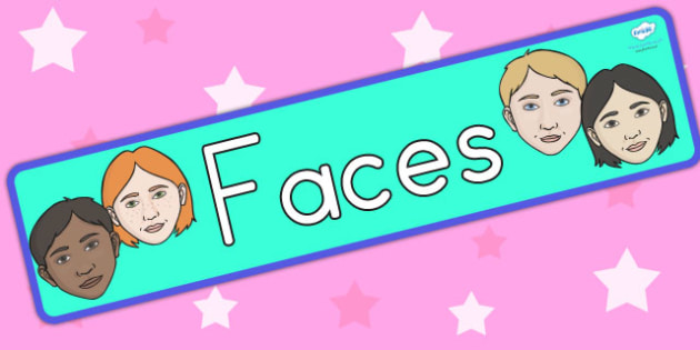 Faces Display Banner - face, ourselves, ourselves display, banner
