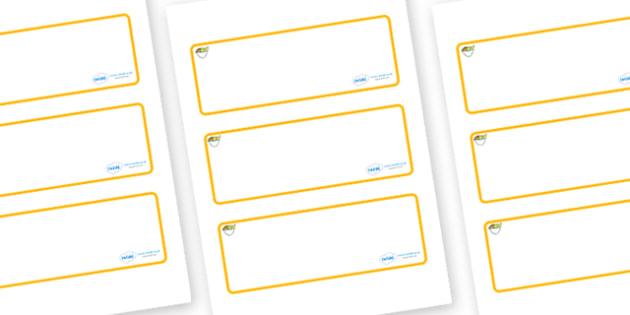 Fruit Themed Editable Drawer-Peg-Name Labels (Blank) - Themed Classroom Label Templates, Resource Labels, Name Labels, Editable Labels, Drawer Labels, Coat Peg Labels, Peg Label, KS1 Labels, Foundation Labels, Foundation Stage Labels, Teaching Labels