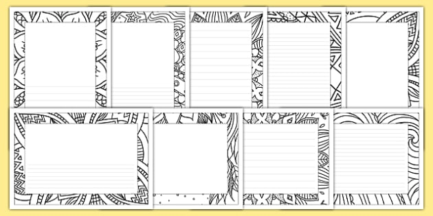 mindfulness colouring page borders mindfulness colouring page borders colour