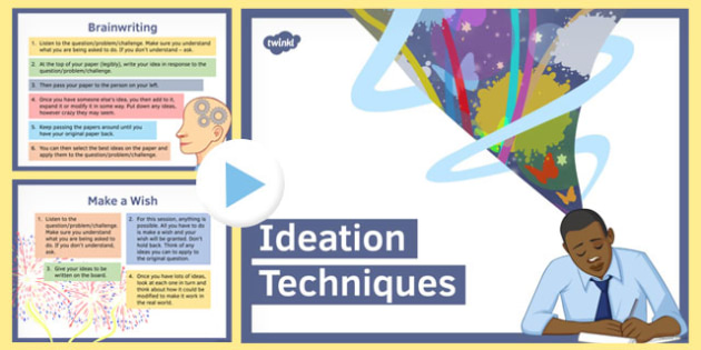 Ten Ideation Techniques for Creative Thinking - ideation, thinking