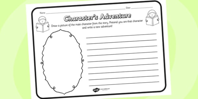 Character Adventure Reading Comprehension Activity - comprehension