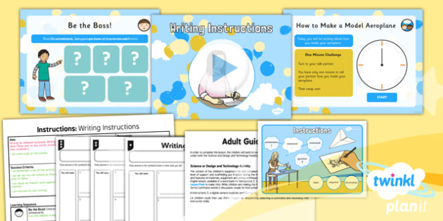 Explorers: Up and Amelia Earhart: Instructions 2 Y2 Lesson Pack - Adventure story, Disney, famous women, inventors, aviation, transport
