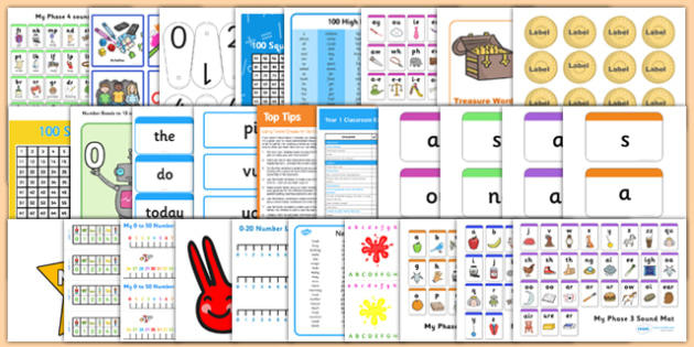 Classroom Essentials for Year 1 Resource Pack