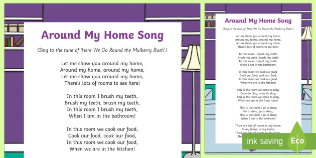 Around My Home Song