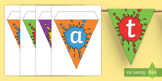 Creative Area Display Bunting - creative area,  bunting, themed bunting, display bunting, bunting flags, flag bunting, cut out bunting, paper bunting