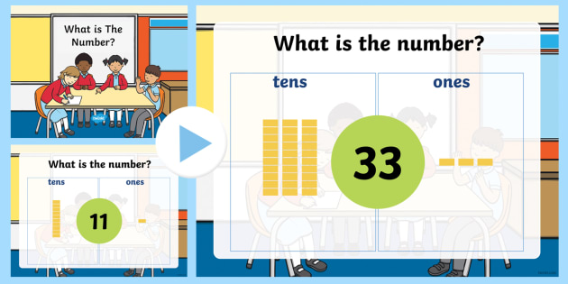 place value powerpoint game tens and ones twinkl. Black Bedroom Furniture Sets. Home Design Ideas