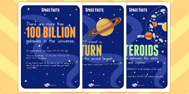 Space Facts Posters - australia, space, facts, poster, display