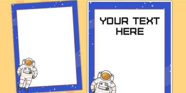 Space Themed Birthday Party Editable Poster - birthdays, parties