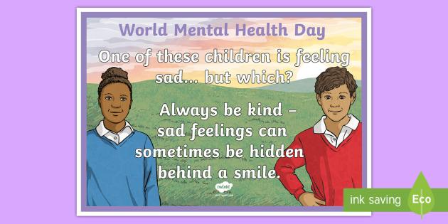 World Mental Health Day Display Banner