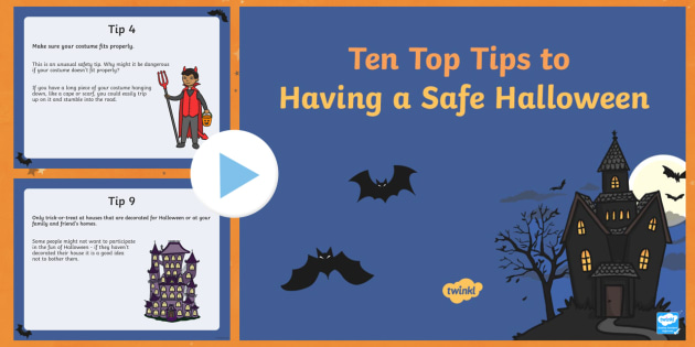 new cfe whole school assembly on halloween safety powerpoint
